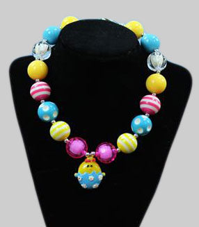 Rainbow Chick Necklace