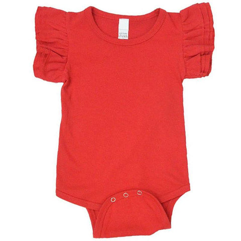Red Flutter Onesie