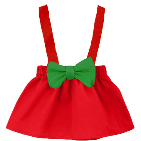 Red Jumper Green Bow