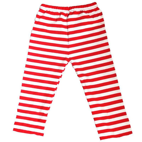 Red White Stripe Pants