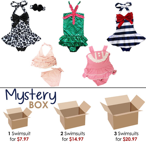 Swimsuit Mystery Box Girl