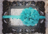 Flower Lace Eyelet Headband