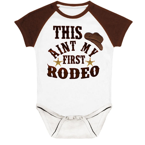 This Aint My First Rodeo Onesie