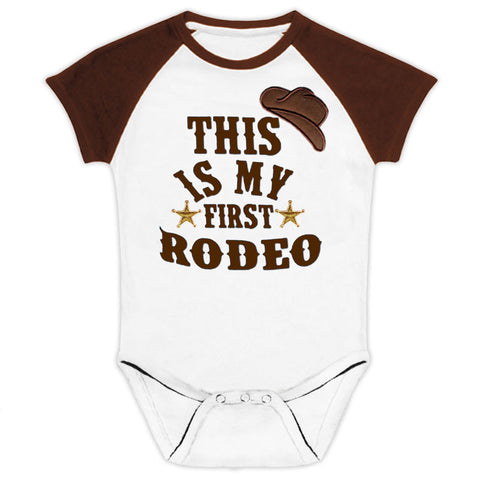 This Is My First Rodeo Onesie