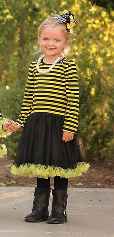 Toddler Bumble Bee Stripe Costume