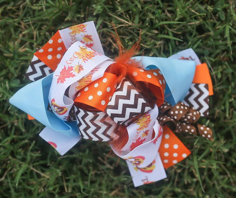 Turkey Day Bow
