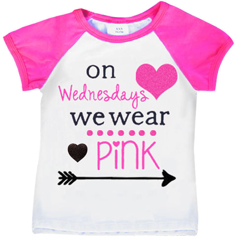Wednesdays Wear Pink Shirt