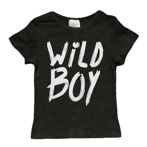 Wild Boy Black Shirt