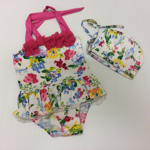 Wild Flower Swimsuit One Piece