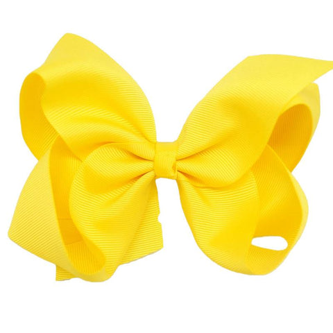 Yellow Knot Bow Ribbon
