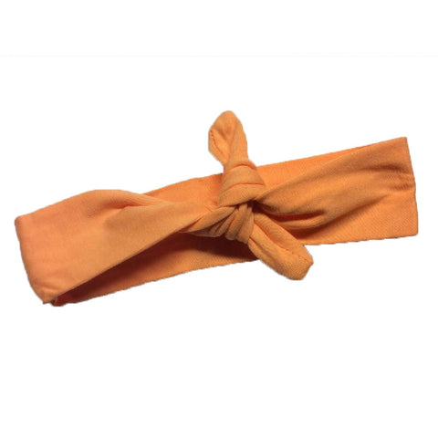 Peach Orange Head Wrap
