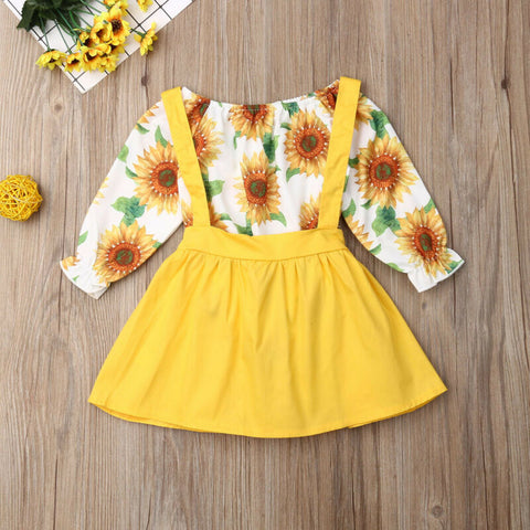 Sunflower Fall Mustard Top And Jumper