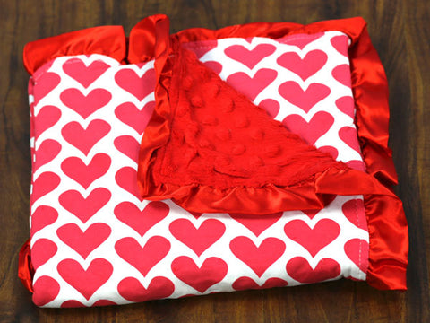 Red Heart Minky Blanket