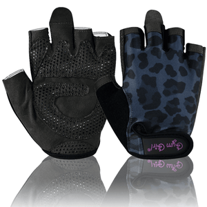 Black Leopard Fitness Gloves