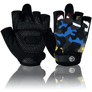 Color Camo Fitness Gloves