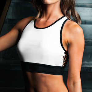 Olympia Crop in White