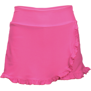 Power Skirt in Neon Pink
