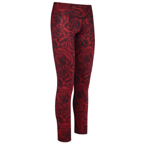 Level Up Legging in Scarlet