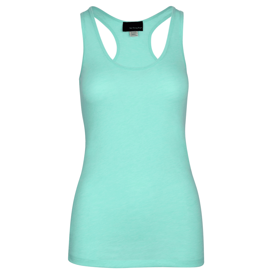 Training Tank in Seafoam