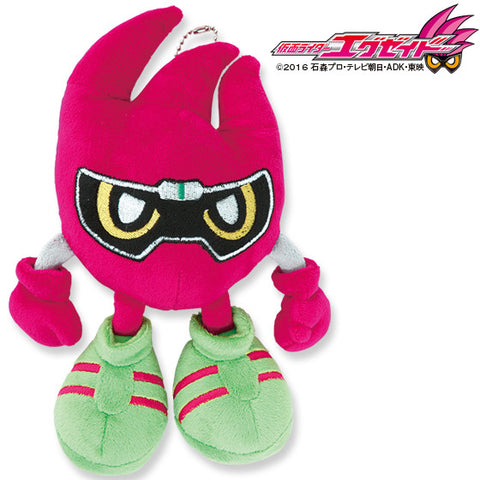 Premium Bandai Fashion Kamen Rider Ex-Aid Mighty Mascot Plushie [In Stock]