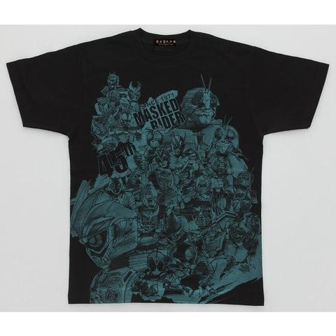 Yoshi Sugahara Collection Kamen Rider Series 45th Anniversary Ex-aid & Riders Tshirt Black [February Release]