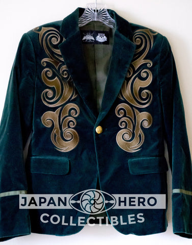 Premium Bandai Fashion Gokaiger Gokai Green Don Dogoier Jacket [Women's One Size]