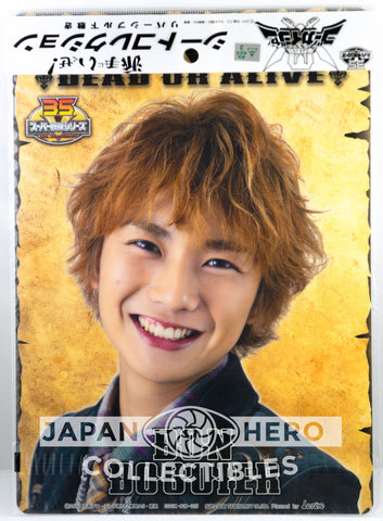 Kaizoku Sentai Gokaiger Wanted Flyer/A4 Pencil Board Gokai Green