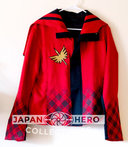 AUTOGRAPHED Premium Bandai Official Fashion Mahou Sentai Magiranger Magi Red Jacket [Men's L]