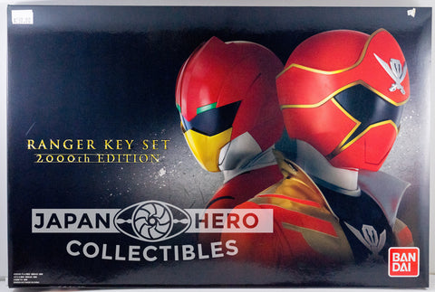 Premium Bandai of Japan Ranger Key Set 2000th Edition Ninninger