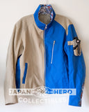 Bandai Fashion Official Jacket GoGo Sentai Boukenger Bouken Blue L