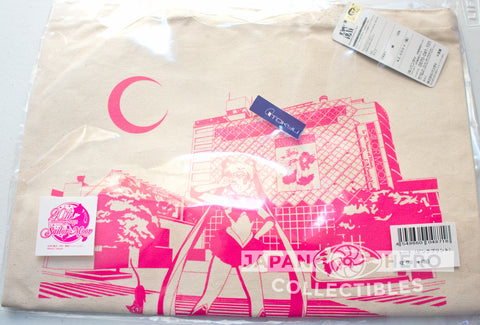 Sailor Moon Exclusive Shibuya Station Limited Canvas Tote Bag (Pink)