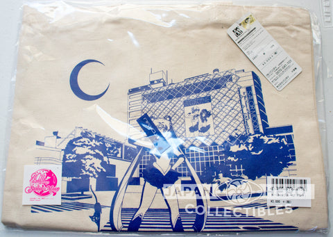 Sailor Moon Exclusive Shibuya Station Limited Canvas Tote Bag (Blue)