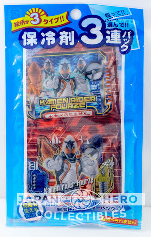 Kamen Rider Fourze Gel Freezer Packs Bento Accessory