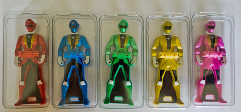 Bandai of Japan Gokaiger Ranger Key Cases