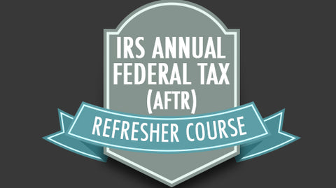 2019 AFSP 18-Hour CE Credit for Tax Preparers