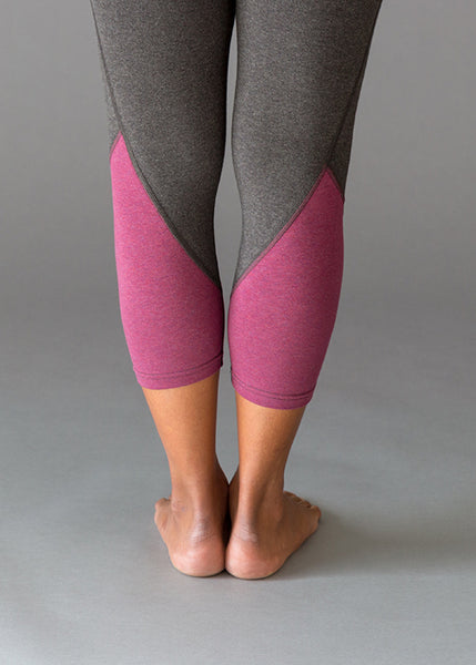Colour Block CropsBottoms- Stretchery