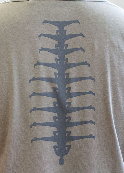 Spine-ing Round Neck T-ShirtT-shirts- Stretchery
