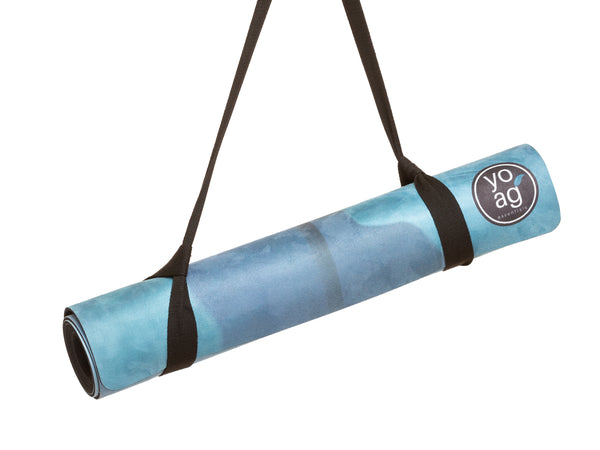 Yoga Essentials Natural Rubber & Microfiber Elephant Suede Yoga MatYoga Mats- Stretchery