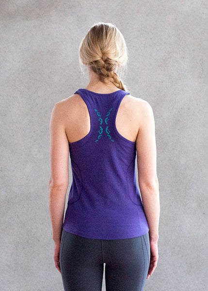 Bow Back Racer Tank