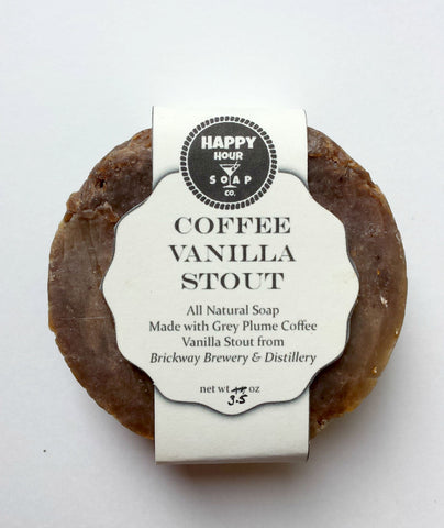 Shaving Soap Coffee Vanilla Stout