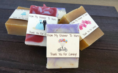 Bridal Shower Soap Favors