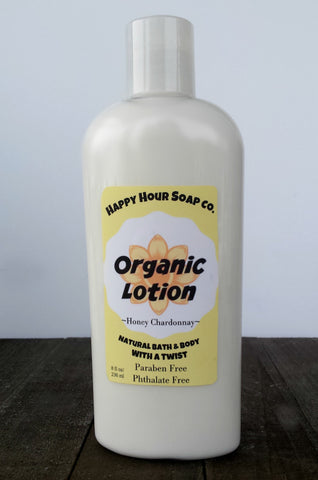 Organic Lotion - Honey Chardonnay
