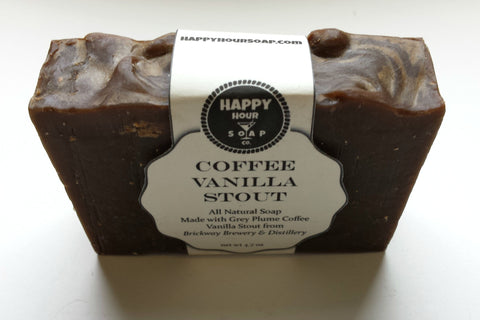 Coffee Vanilla Stout Happy Hour Soap