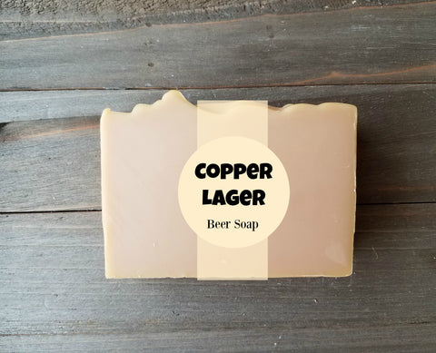 Copper Lager Beer Soap