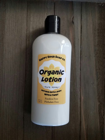 Pure Honey Organic Lotion