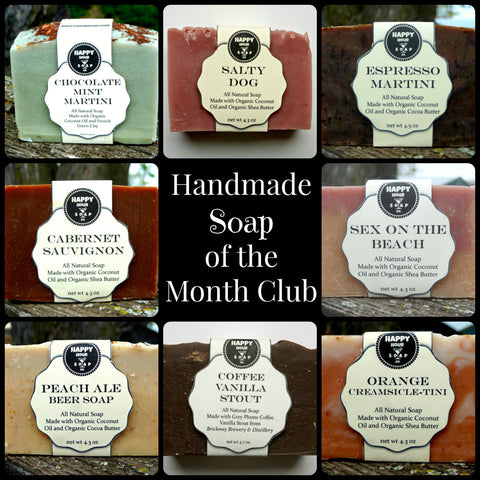 Handmade SOAP of the Month Club - One Year Prepaid Subscription