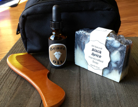 Men's Beard Grooming Gift Set