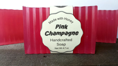 Pink Champagne Happy Hour Soap