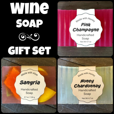 Wine Soap Gift Set