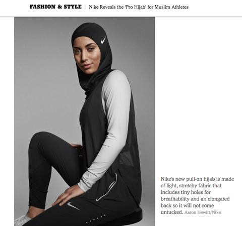 Muslim Womenled Brands Disrupted The Sportswear Industry Before - Nike is going to launch a hijab collection developed together with muslim athletes